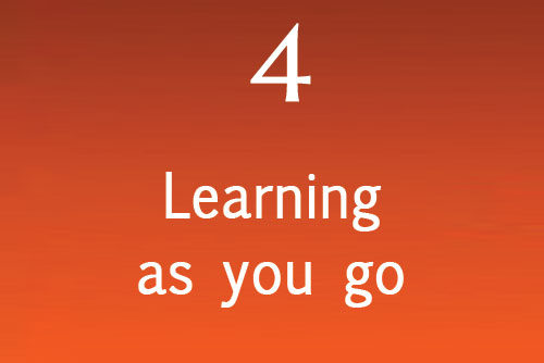 Learning as you go