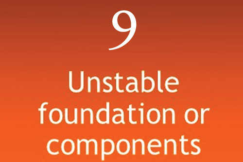 Unstable Foundation