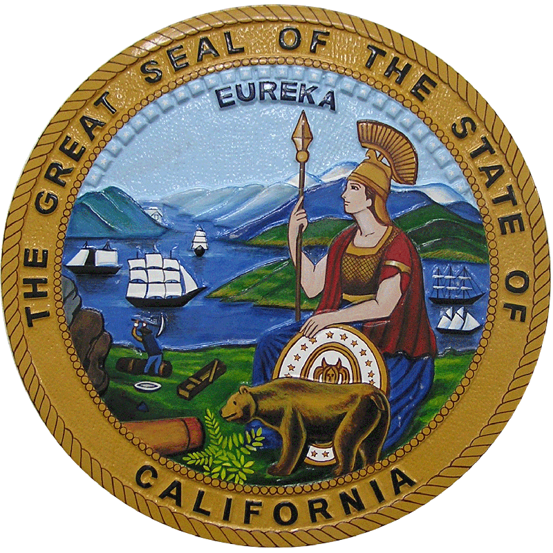 california-state-seal-plaque