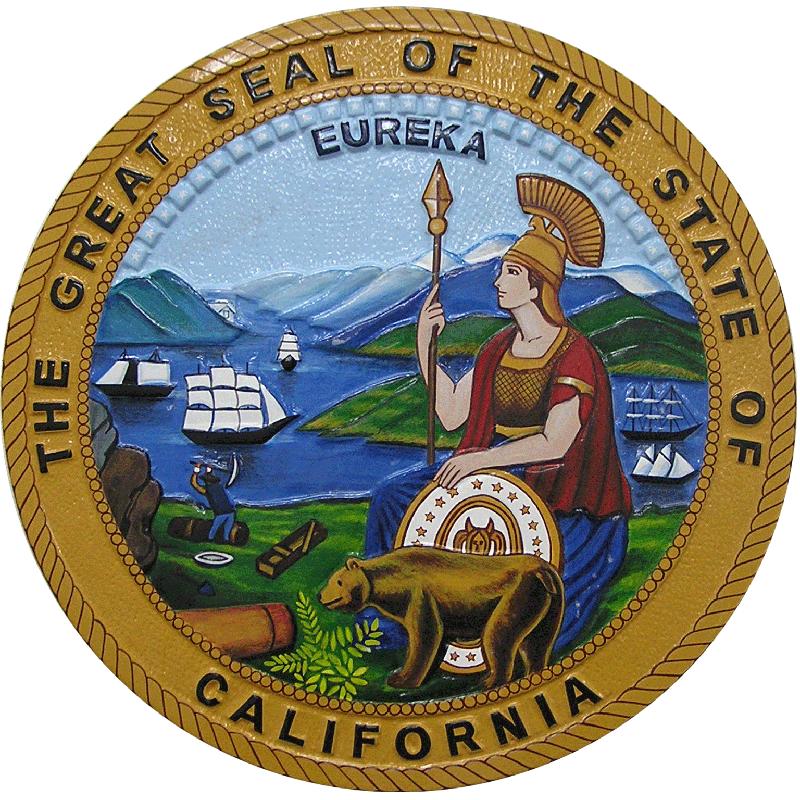 california-state-seal-plaque